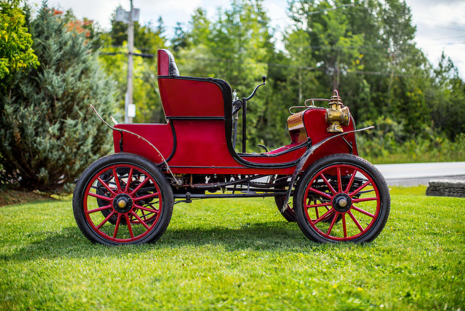 <B>1903 Stevens-Duryea Model L Runabout</B><BR />Chassis no. 326<BR />Engine no. 309