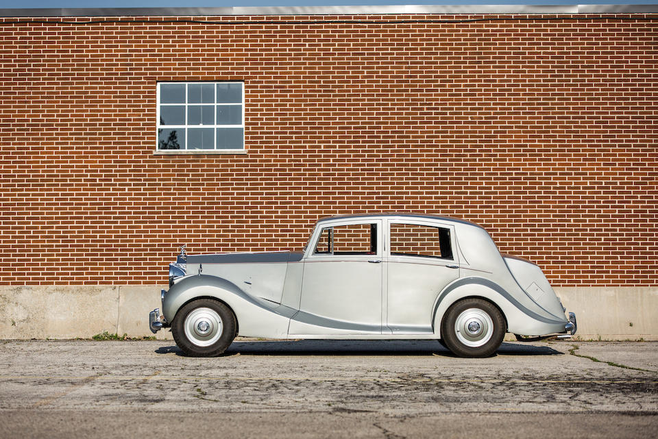 <B>1952 Rolls-Royce Silver Wraith Razor-Edge Sport Saloon<BR />Coachwork by Vincents of Reading</B><BR />Chassis no. WVH3<BR />Engine no. W3H