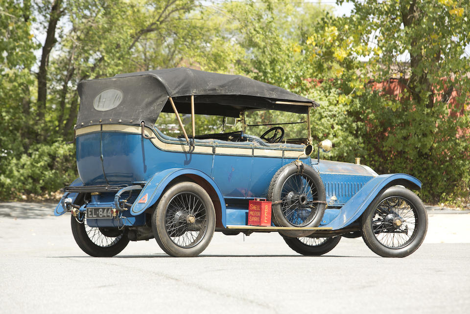 <i>Formerly the Property of Ken McBride</i><BR /><B>1913 Napier Type 44 Six-Cylinder Touring Car<BR />Coachwork by Cunard</B><BR />Chassis no. 11667 <BR />Engine no. 18798 - E605