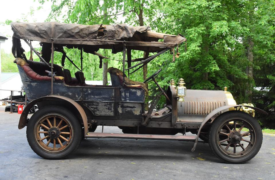 <i>Timewarp discovery car, Ex-Buess Collection</i><BR /><B>1908 Rainier Model D 45/50hp Seven Passenger Touring</B><BR />Chassis no. 1603
