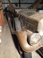 <B>1930 Pierce-Arrow Model A 7-Passenger Tourer </B><BR />Chassis no. 3025617<BR />Engine no. 300606