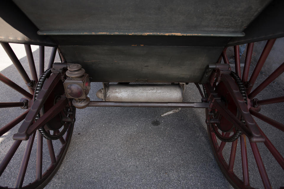 <B>1908 International Model A Runabout</B><BR />Chassis no. 1547