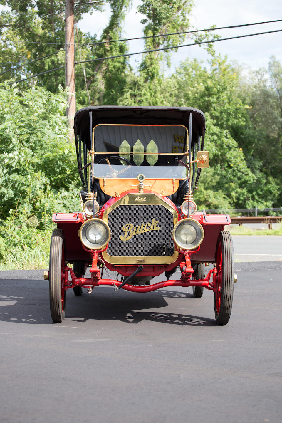 <i>From the collection of Jim Hearn</i><BR /><B>1910 Buick Model 16 Toy Tonneau</B><BR />Engine no. 1367