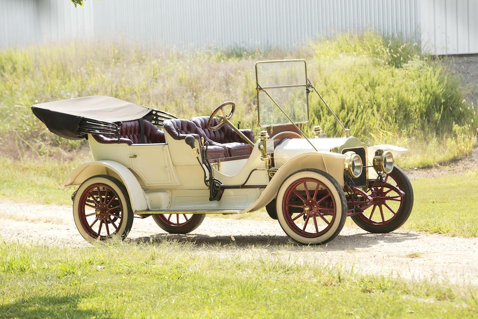 <i>Formerly the Property of Sam Garrett</i><BR /><B>1910 White Model GA 20hp Tourer</B><BR />Chassis no. GA1628