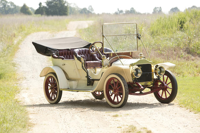 <i>Formerly the Property of Sam Garrett</i><BR /><B>1910 White Model GA 20hp Tourer</B><BR />Chassis no. GA1628