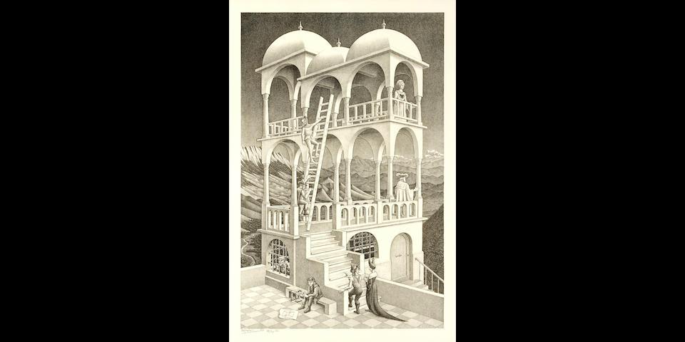 Maurits Cornelis Escher (1898-1972); Belvedere;