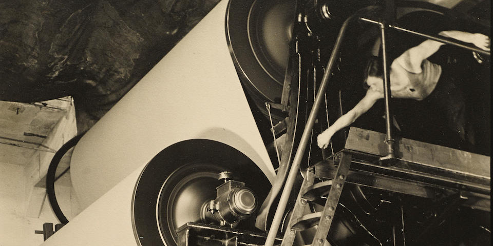 Margaret Bourke-White (1904-1971); Continental Paper Company;