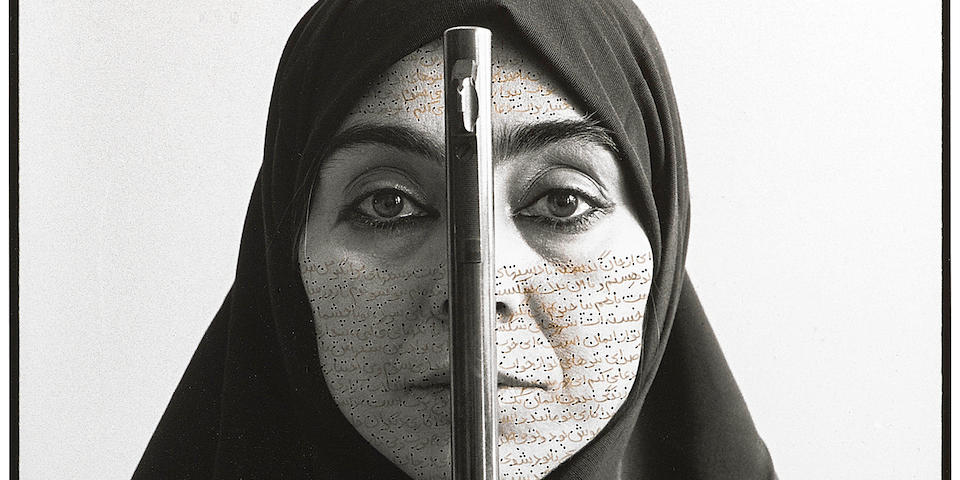 Shirin Neshat (born 1957); Rebellious Silence, from Women of Allah series;