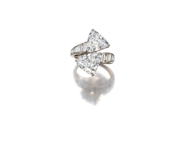 A diamond ring, Harry Winston,