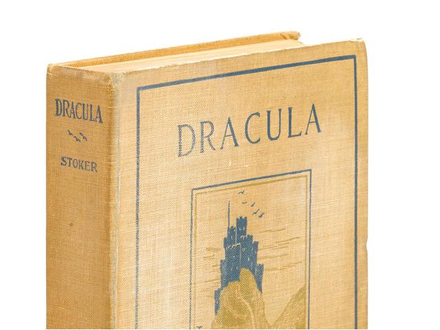 STOKER, BRAM. 1847-1912. Dracula. New York: Doubleday & McClure, 1899.