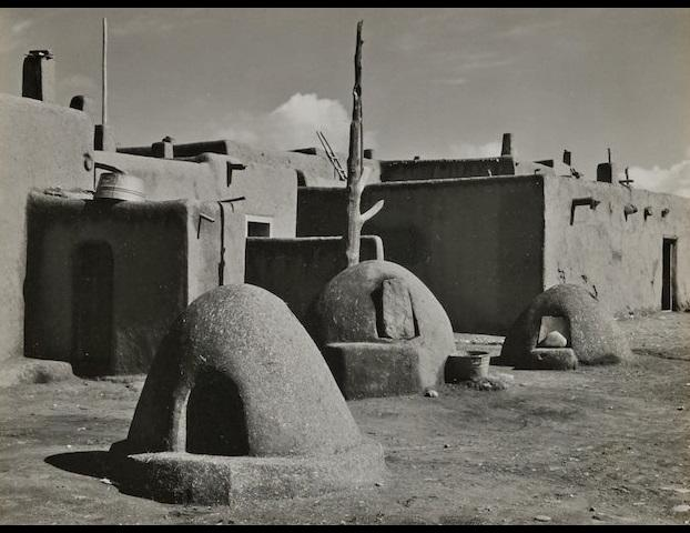 Edward Weston (1886-1958); Taos Pueblo, New Mexico;