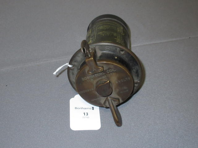 Property from the Collection of Joel Finn A Bosch 6-volt A-coil, no. 105966