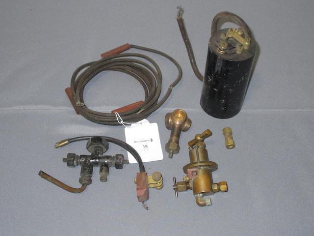 Property from the Collection of Joel Finn An electric lamp igniter