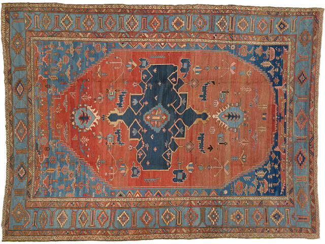 A Serapi carpet Northwest Persia size approximately 11ft. 3in. x 15ft.