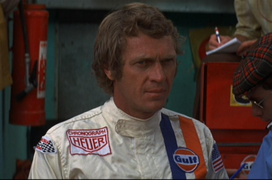 Steve McQueen's iconic racing suit from Le Mans
