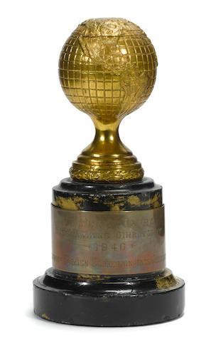 A Frank Capra Golden Globe Award for It's a Wonderful Life
