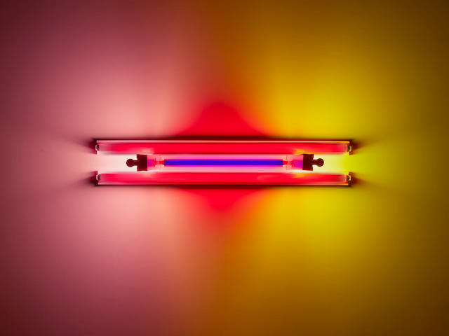 DAN FLAVIN (1933-1996) untitled (to Madeline and Eric Kraft), 1992