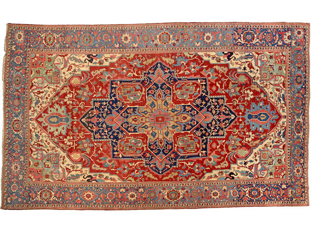 A Serapi carpet  Northwest Persia size approximately 12ft. x 19ft. 7in.