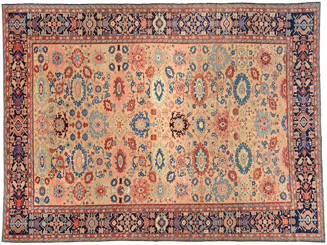A Senneh carpet Northwest Persia size approximately 13ft. x 17ft. 3in.