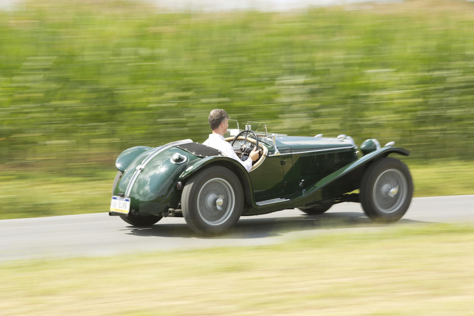<i>The Swiss MPH</i><BR /><B>1935 RILEY MPH TWO SEATER SPORTS<br /></B><BR />Chassis no. 44T 2415<BR />Engine no. 15-4132 (see text)