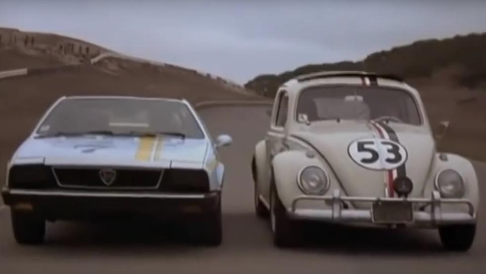 Giselle, Herbie's co-star in Herbie Goes to Monte Carlo,1976 Lancia Scorpion  Chassis no. 137AS100051