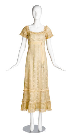 A Grace Kelly dress from The Swan