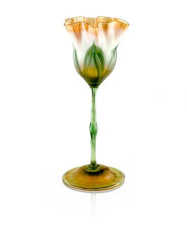 Tiffany Studios Flower Form Vase, circa 1905
