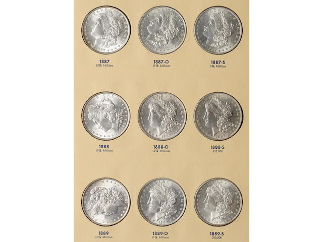 Library of Coins 3 Volume Liberty Head Silver Dollars Set, volumes 23-26