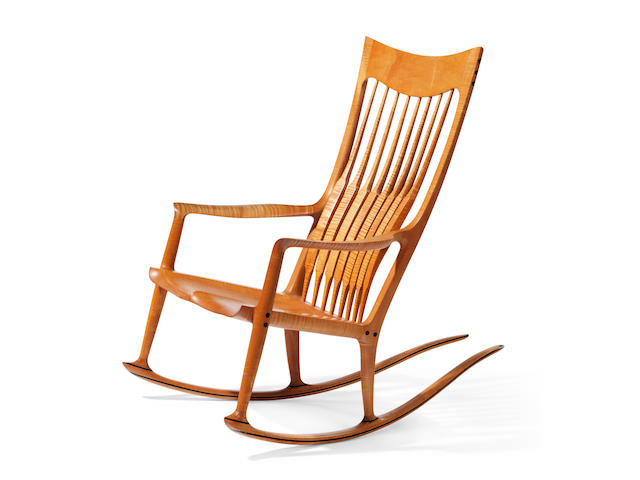 Sam Maloof (American, 1916-2009) Rocking Chair, 1994