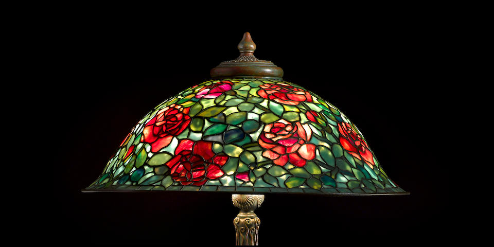 Tiffany Studios Rose Bush Floor Lamp, circa 1913