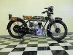 1926 Sunbeam Model 5 Light Solo Engine no. 16445
