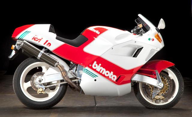 1992 Bimota 904cc Tesi 1D SR Frame no. ZESS5DU25NRTES006