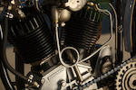 Offered From The Larry Bowman Collection,1929 Harley-Davidson JDH Racer Engine no. 29 JDH 4309