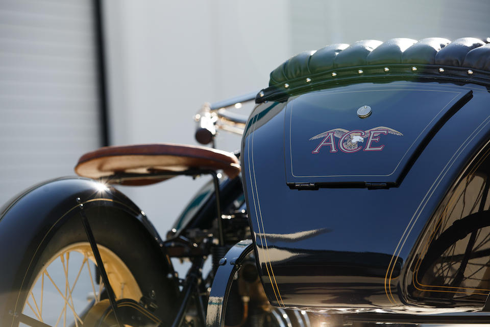Offered From The Larry Bowman Collection,1922 Ace with FLXI Observer Sidecar Frame no. 21336 Engine no. B4375