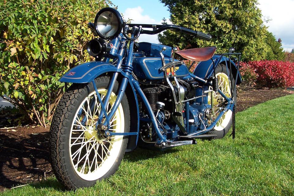 1926 Henderson De Luxe Engine no. D20112