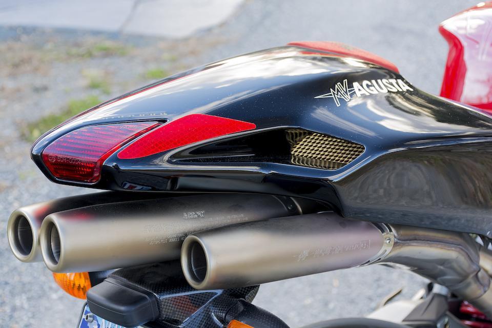 Number 283 of 300, A celebration of Massimo Tamburini's seminal MV design work,2005 MV Agusta  Tamburini Frame no. ZCGAKFGL35V000283 Engine no. F5A402832