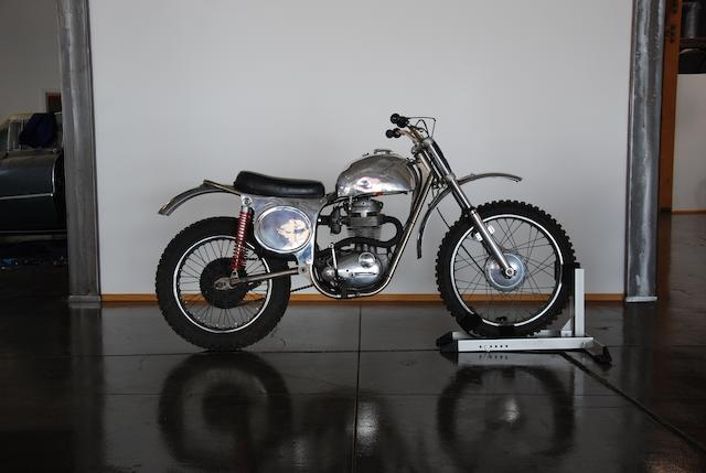 1966 Cheney 441CC BSA VICTOR MOTOCROSSER Frame no. MK2 45 Engine no. B44R 741