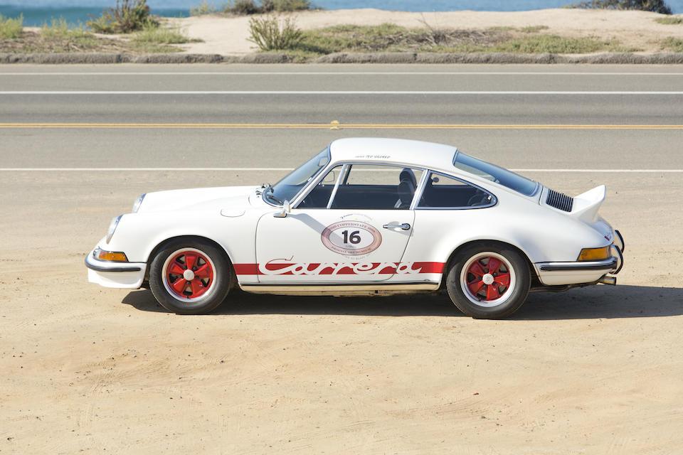 1973 PORSCHE 911 CARRERA RS 2.7  Chassis no. 9113601446 Engine no. 6631401