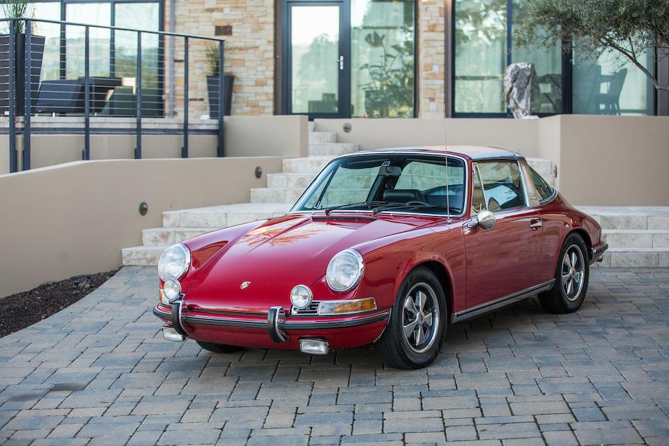 1969 PORSCHE 911S 2.0 TARGA  Chassis no. 119310587 Engine no. 6392043