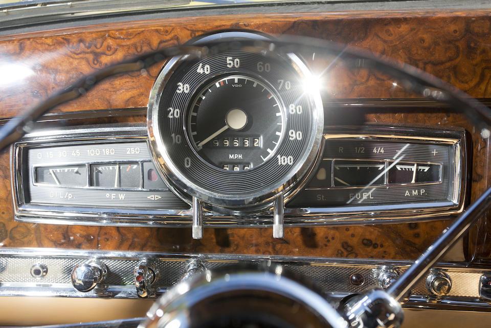 Bonhams 1956 Mercedes Benz 300sc Coupe Chassis No 188014 5500029 Engine No 199 980 5500002