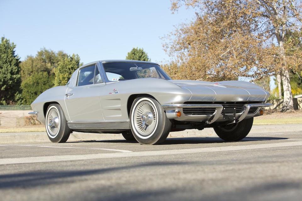1963 CHEVROLET  CORVETTE 327/360HP COUPE  Chassis no. 30837S104422 Engine no. 3104422 FI128RF