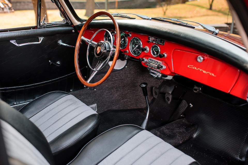 1962 PORSCHE  356 CARRERA 2 GS COUPE  Chassis no. 120840 Engine no. (KD) P97311