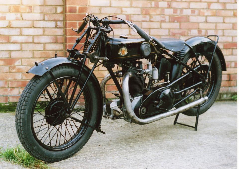 1929 OK Supreme 350cc Frame no. 11189 Engine no. IOY/4467
