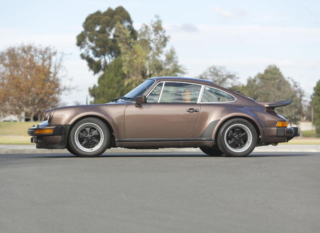 1977 PORSCHE  930 3.0 TURBO COUPE  Chassis no. 9307800362 Engine no. 6870373