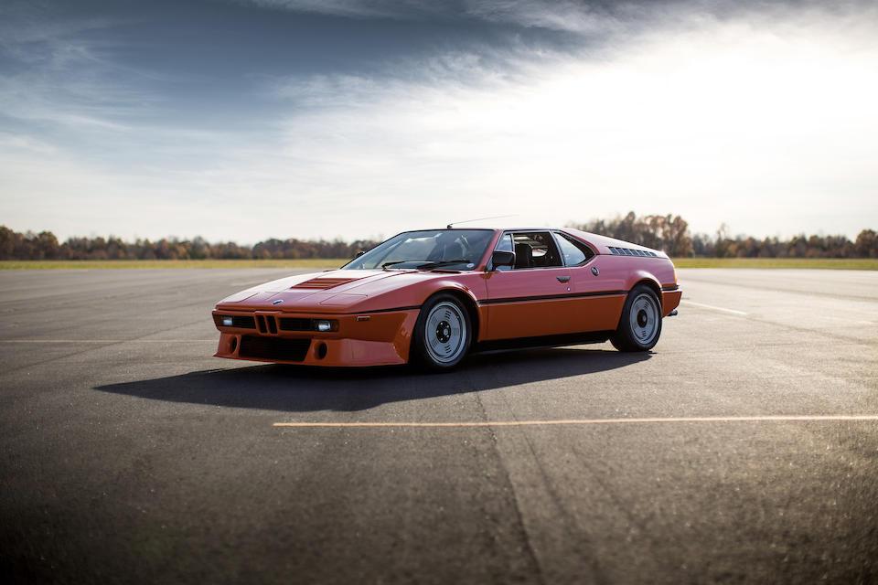 1980 BMW M1  Chassis no. 4301096 Engine no. M88-212