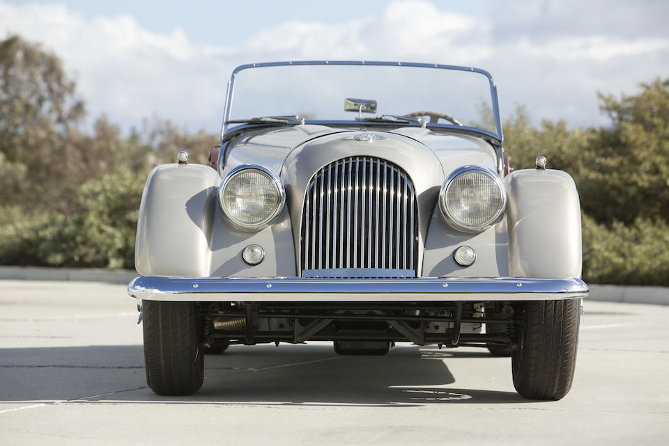 1961 Morgan Plus 4 Roadster  Chassis no. 4796 Engine no. 81633