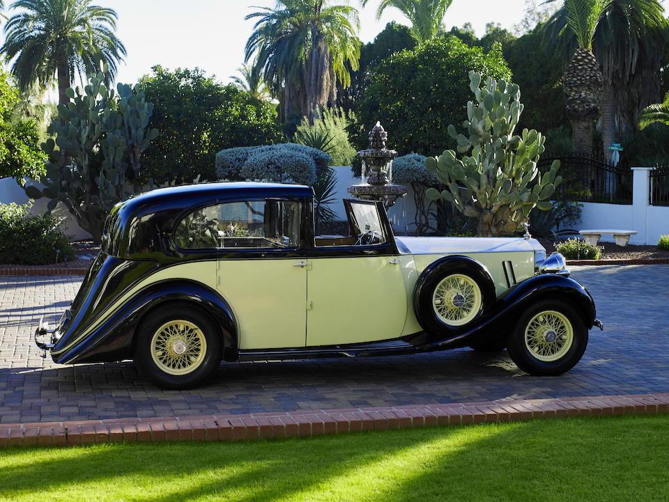 1936 ROLLS-ROYCE  PHANTOM III 40/50HP SEDANCA DE VILLE   Chassis no. 3 AZ 40 Engine no. Z 14 B