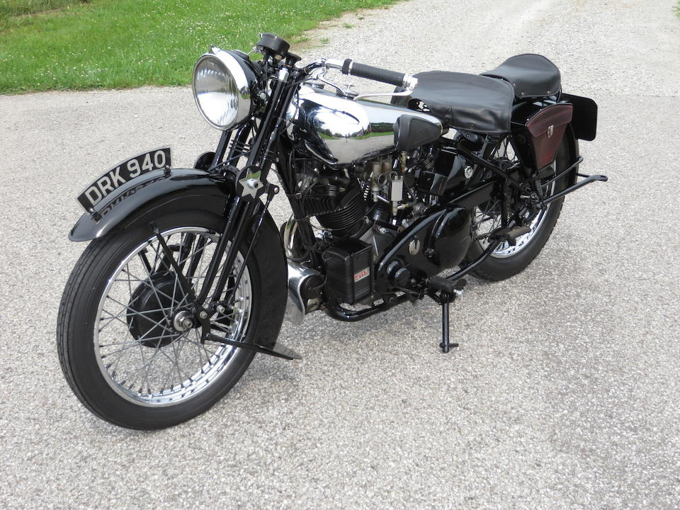 A superbly strong-running machine with Matchless V-twin power,1938 Brough Superior 998CC SS80 FITTED WITH AN SS100 ENGINE Frame no. M8 1873 Engine no. BS/X2 1060