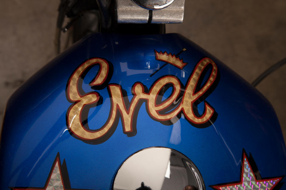 Evel Knievel S Harley Davidson Xl1000 Up For Auction: Bonhams : Film Used, Built By Bud Ekins For The Movie