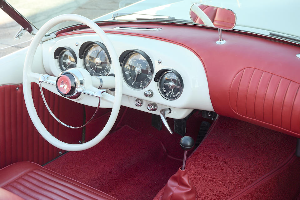 1953 KAISER-DARRIN  SPORT CONVERTIBLE  Chassis no. 161.001001 Engine no. 3495025